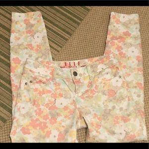 Elle Floral Skinny Jeans 4